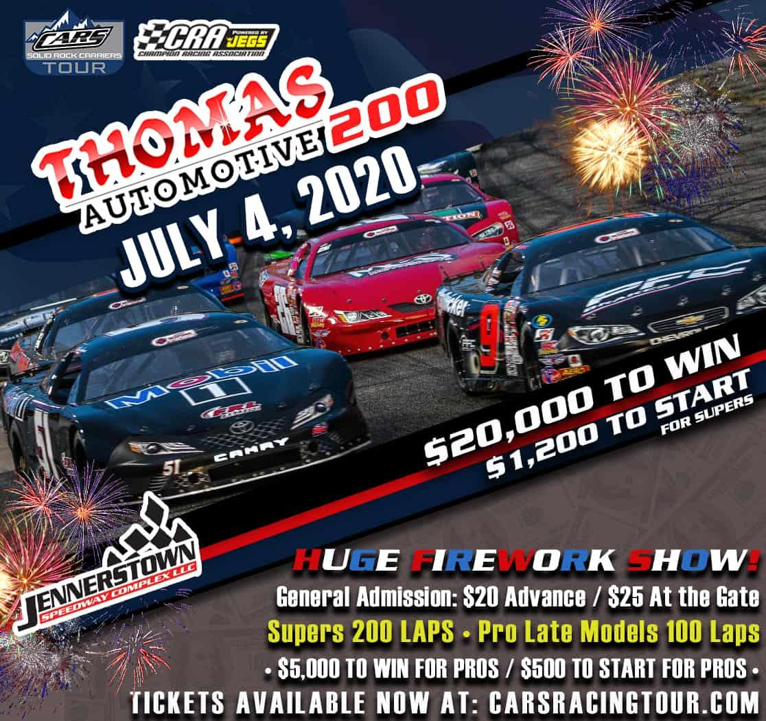 Jennerstown Speedway Fireworks