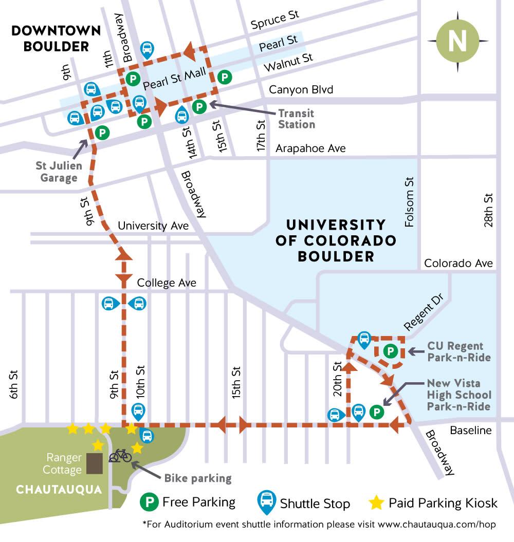Park to Park Shuttle Map 2018