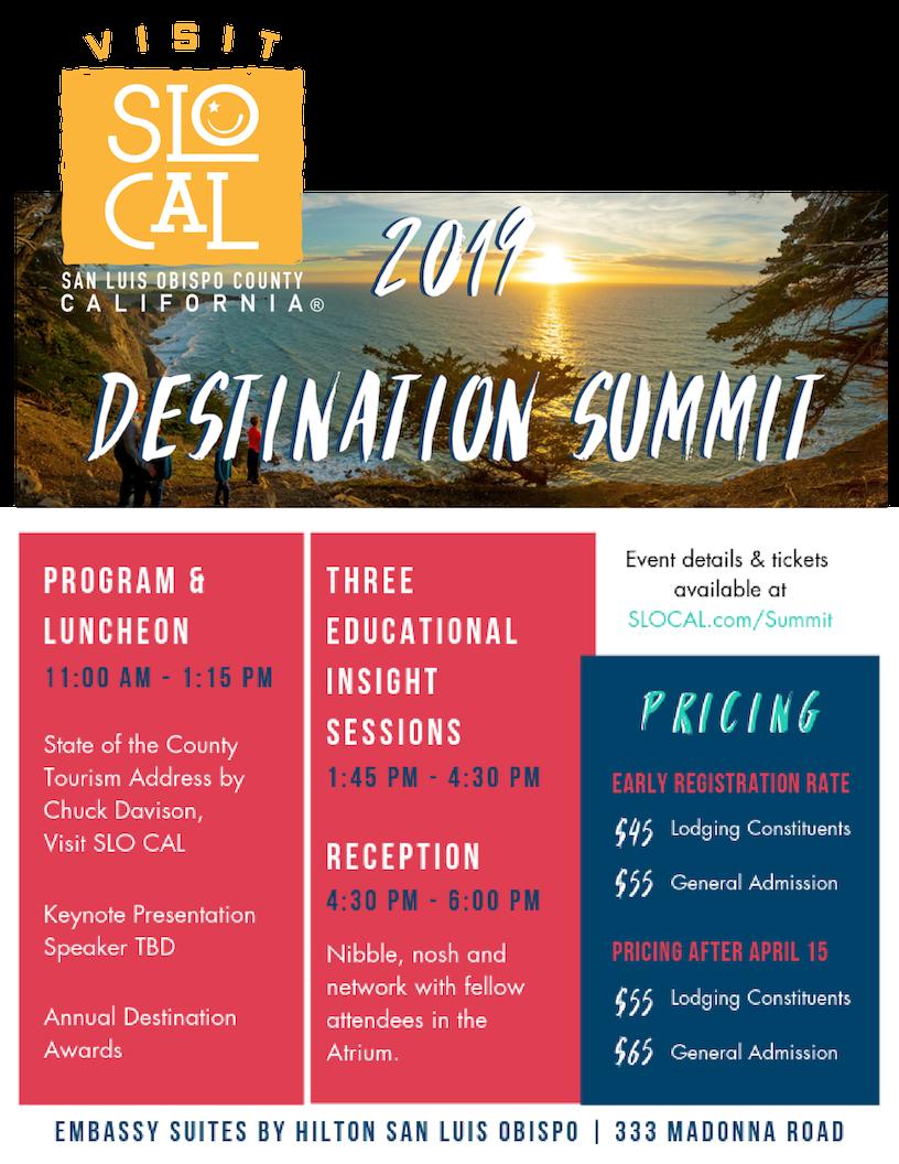 Destination Summit web flyer