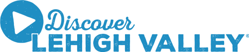Discover Lehigh Valley One color blue logo png