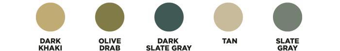 Georgia O'Keeffe Color Palettes
