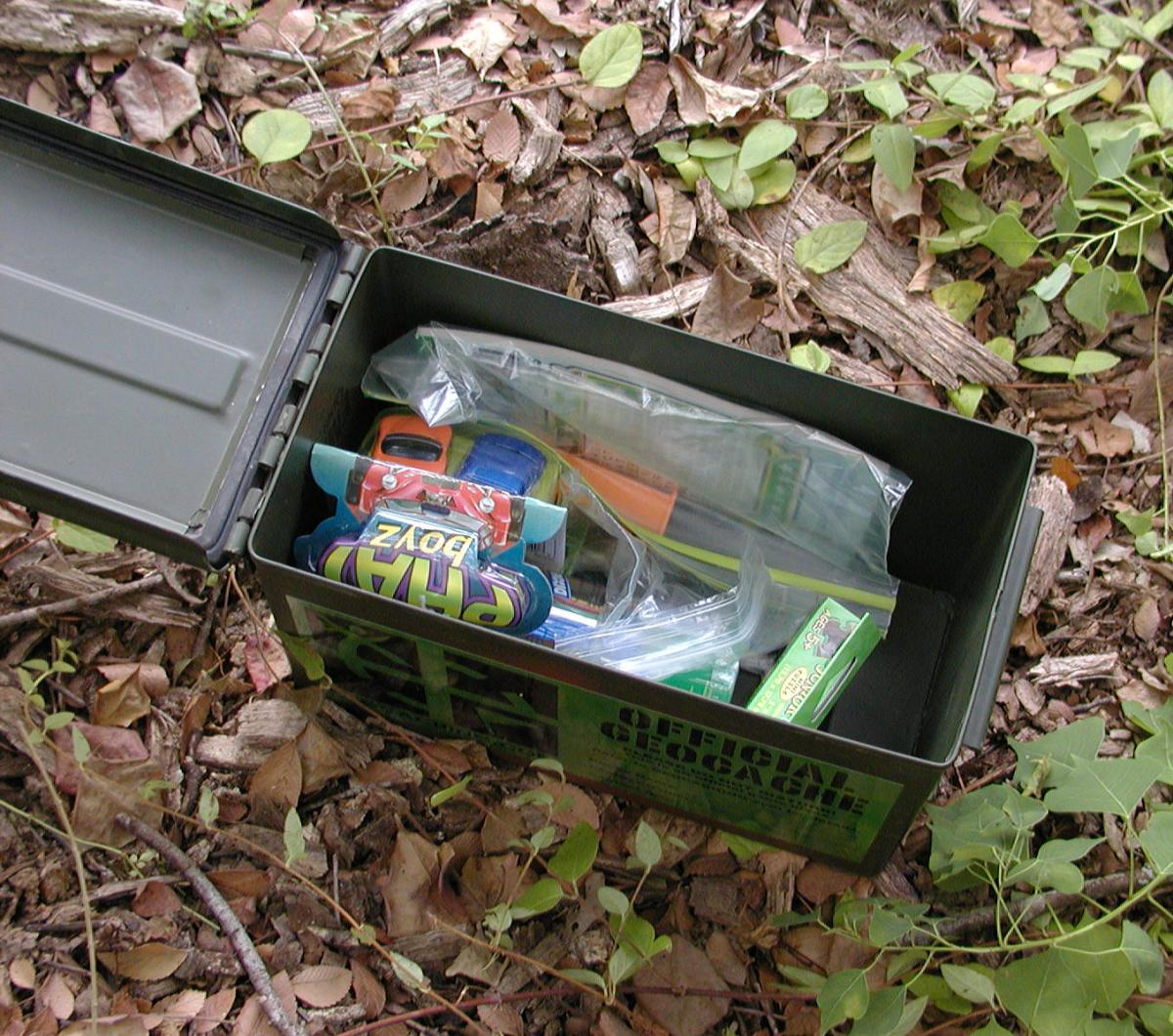 Geocaching Box