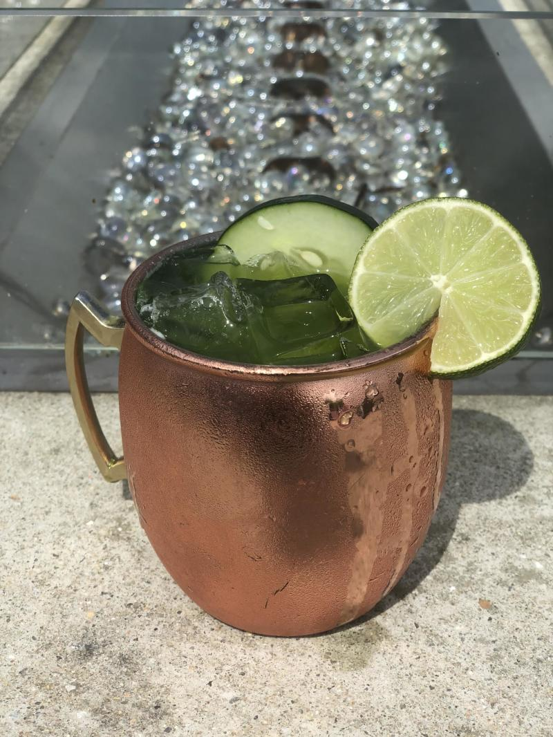 Cucumber Mule Sage Kitchen