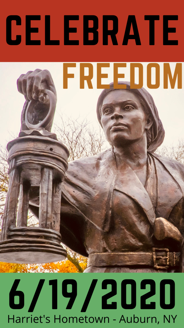 Celebrate Freedom with Harriet Tubman - Juneteenth
