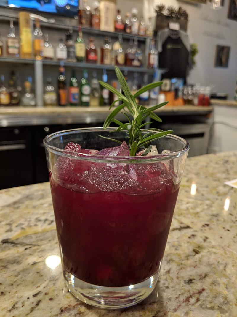Sage Kitchen Slay Bells Cocktail