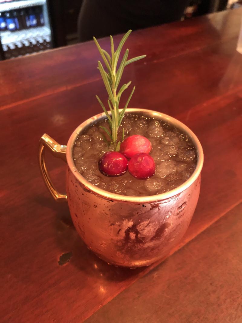 Waterman's Cranberry Mule