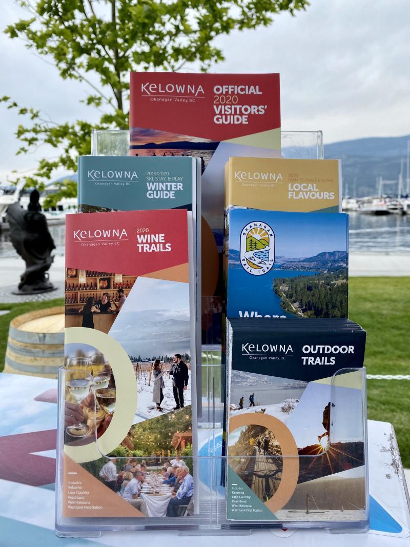 Tourism Kelowna 2020 Guides