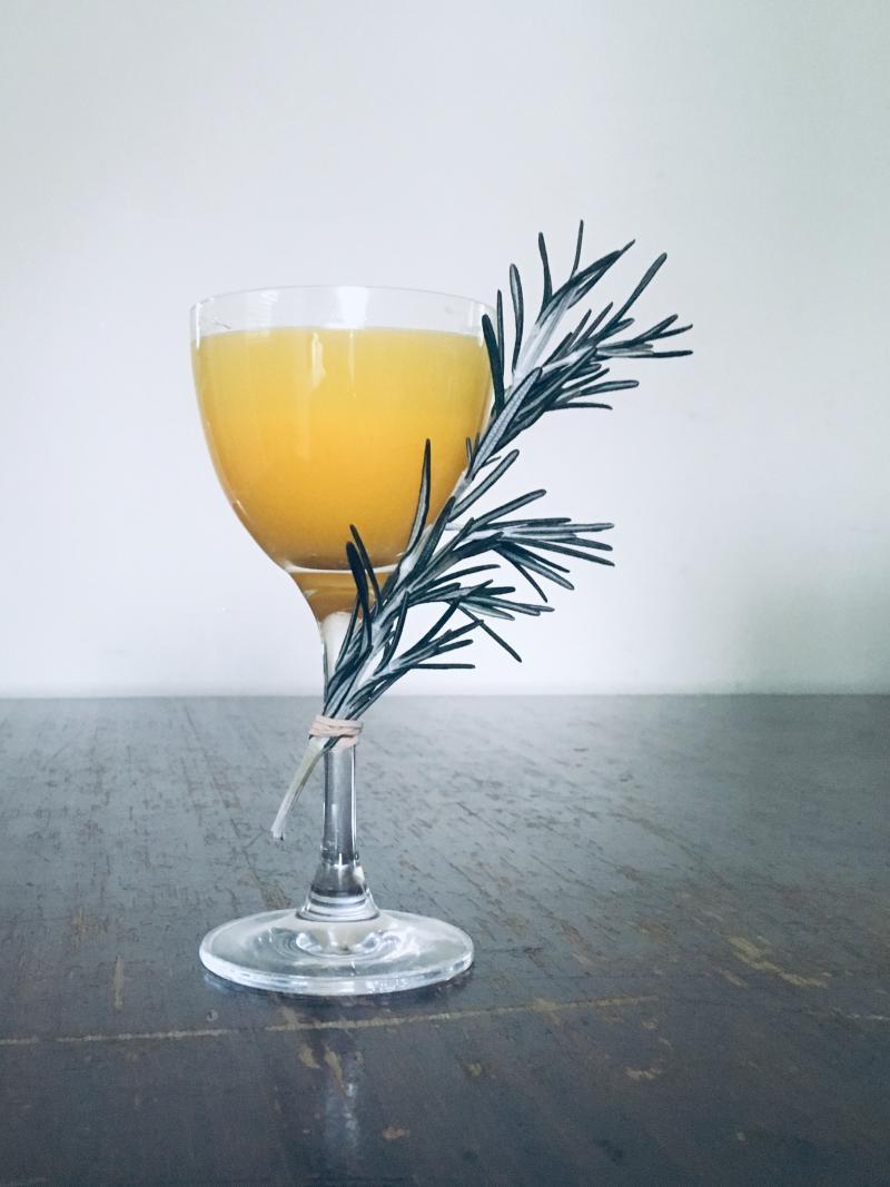 Pumpkin Gimlet Cocktail