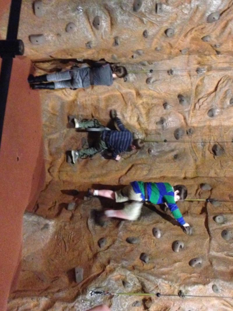 Rock Climbing at the U.S. Space & Rocket Center
