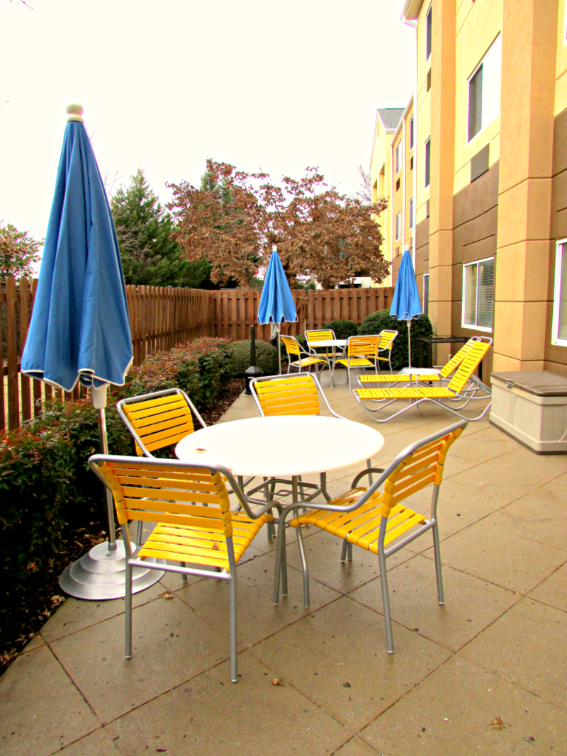 Fairfield Inn Patio in Huntsville