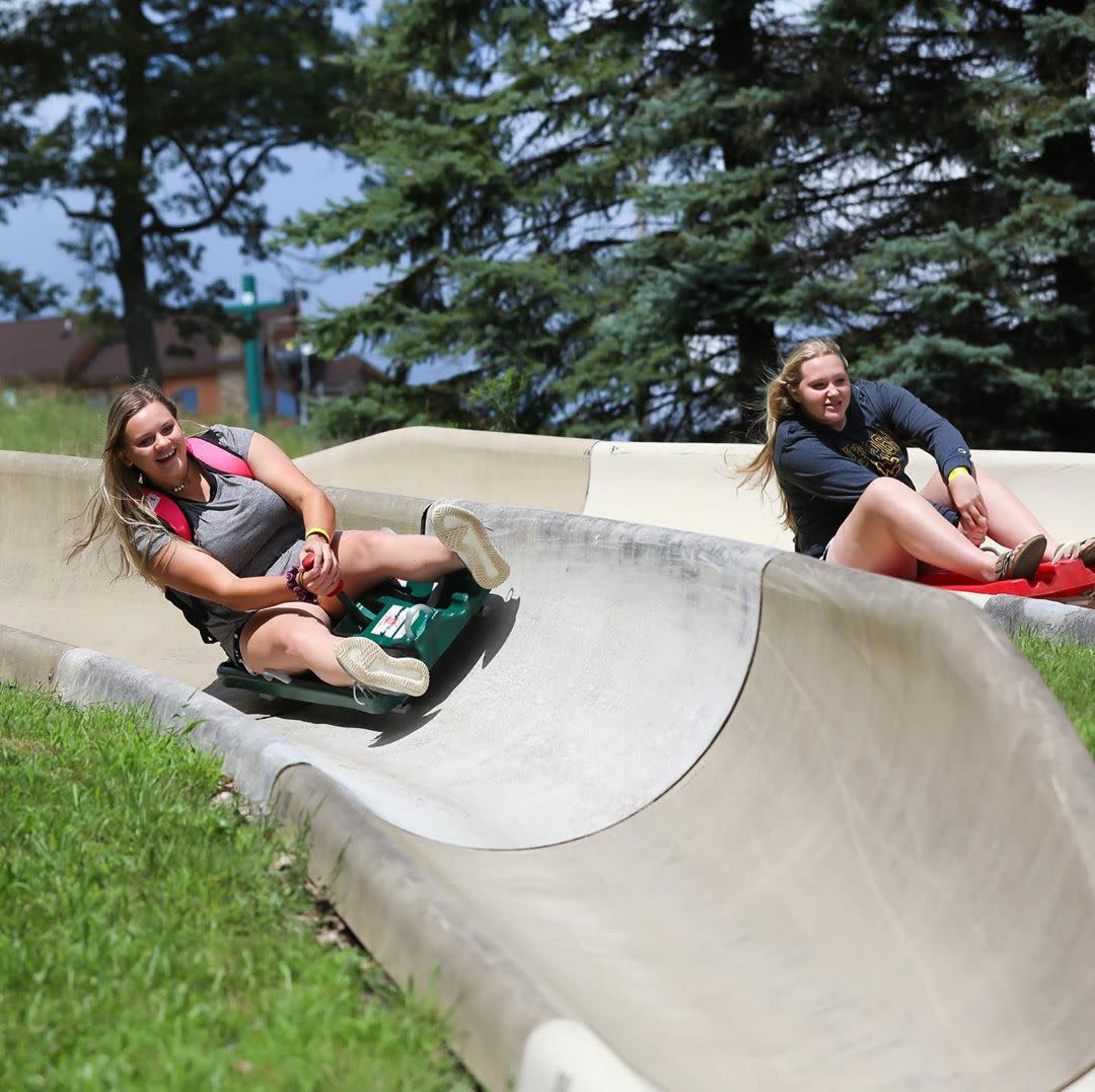 Alpine Slide at Seven Springs