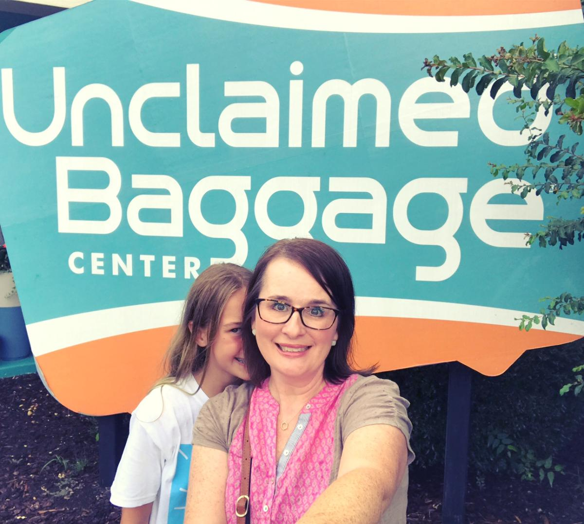 Carley's Adventures: Unclaimed Baggage Center