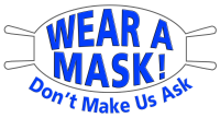 Wear a mask icon