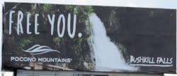 2016 Spring/Summer Co/Op - Billboard (Static) - Bushkill Falls