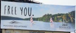 2016 Spring/Summer Co/Op - Billboard (Static) - Woodloch Resort