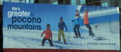 Winter 2015/16 - Static Billboard - Pocono Mountains Visitors Bureau