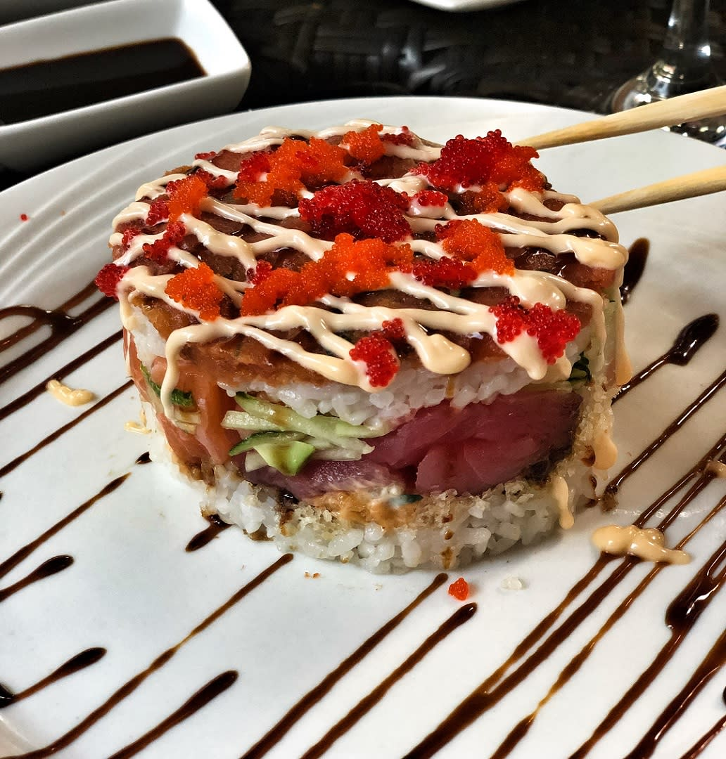 Sushi Roll From Ironbound Sushi In Newark, NJ