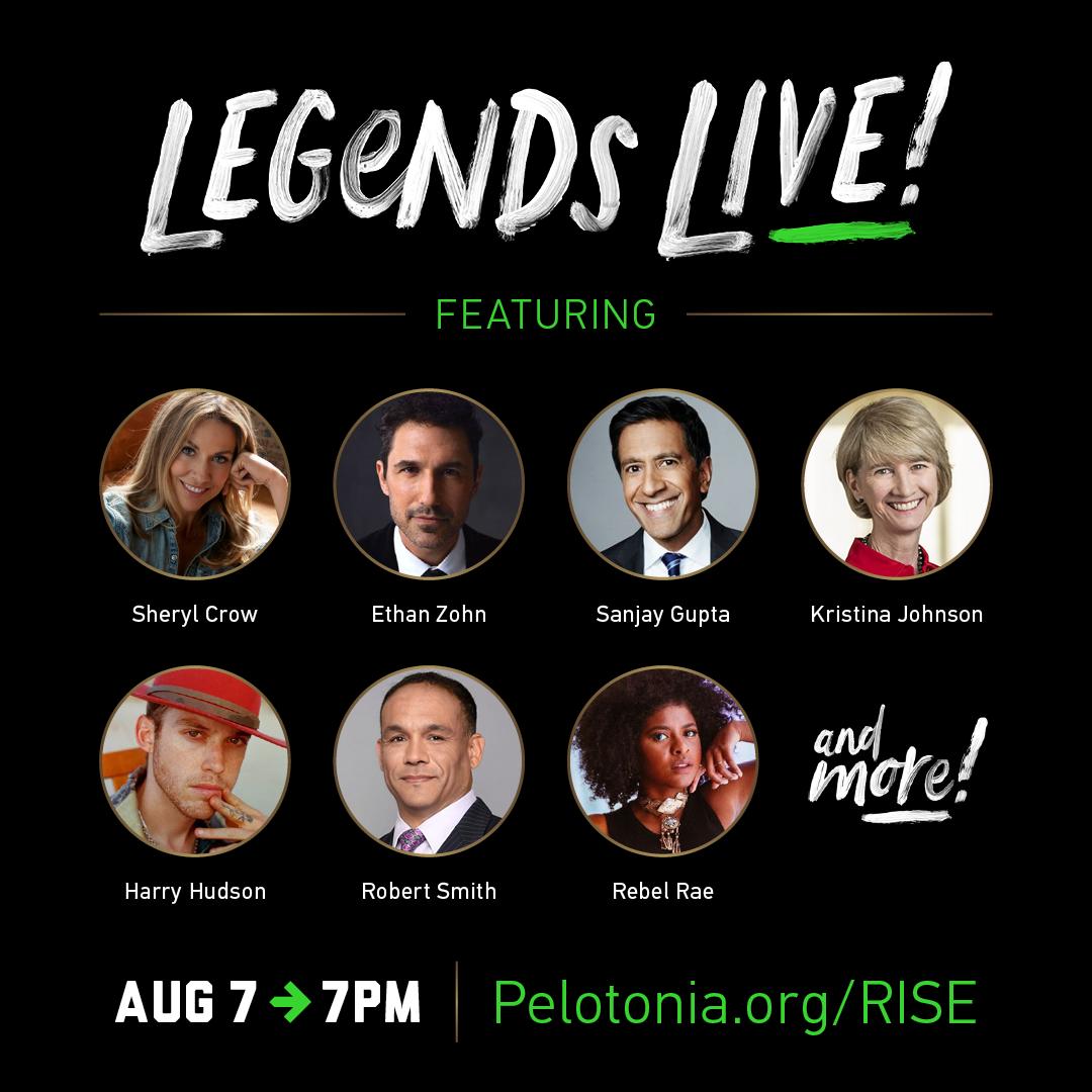 Pelotonia Legends Live Special Guests