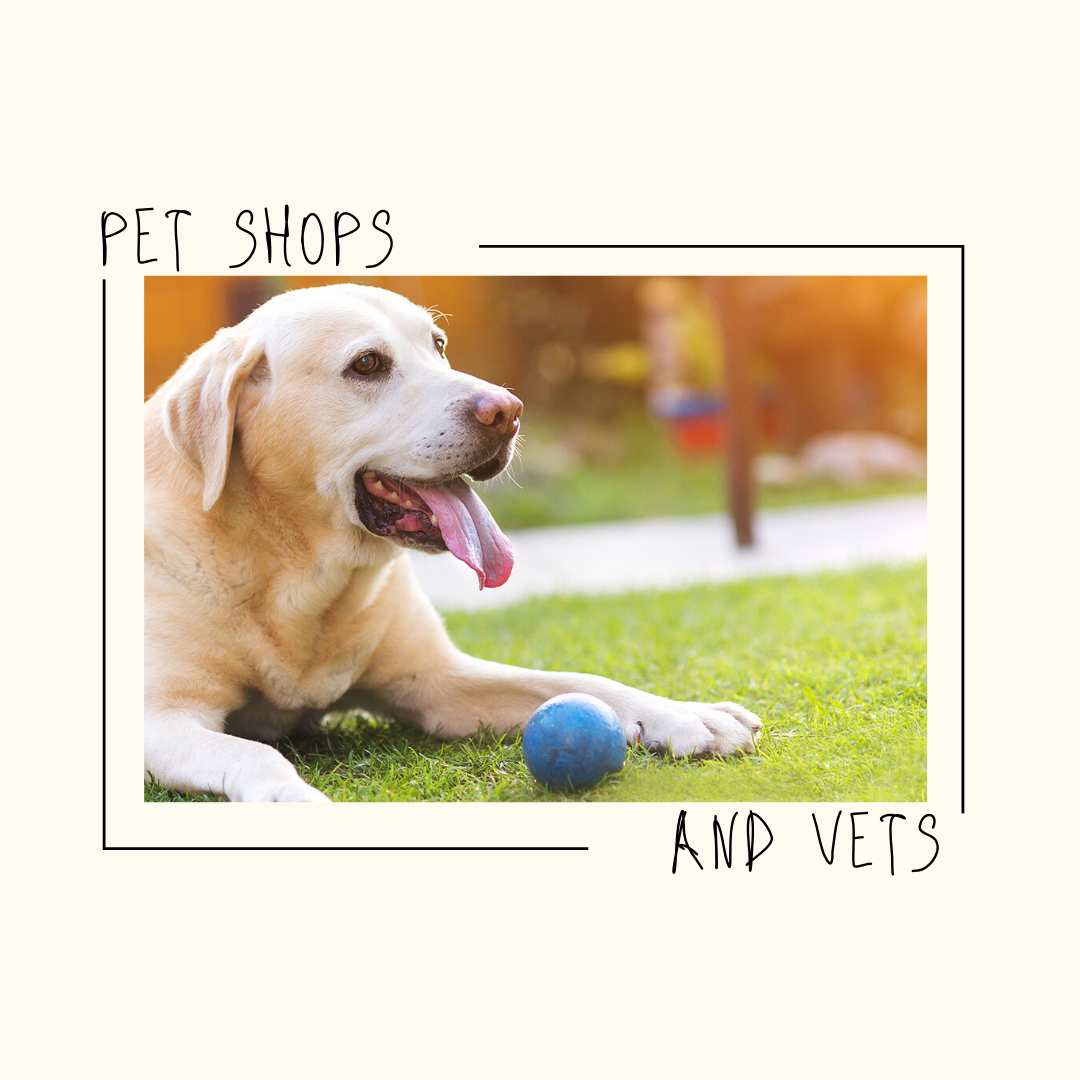 Pet shops and vets located in Johnston County, NC.