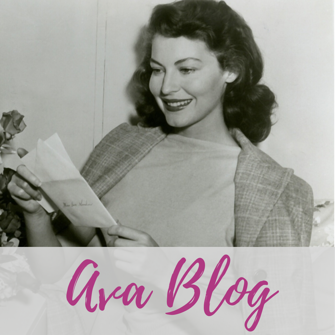Ava Gardner BLOG, stories from our staff and board, Smithfield, NC.