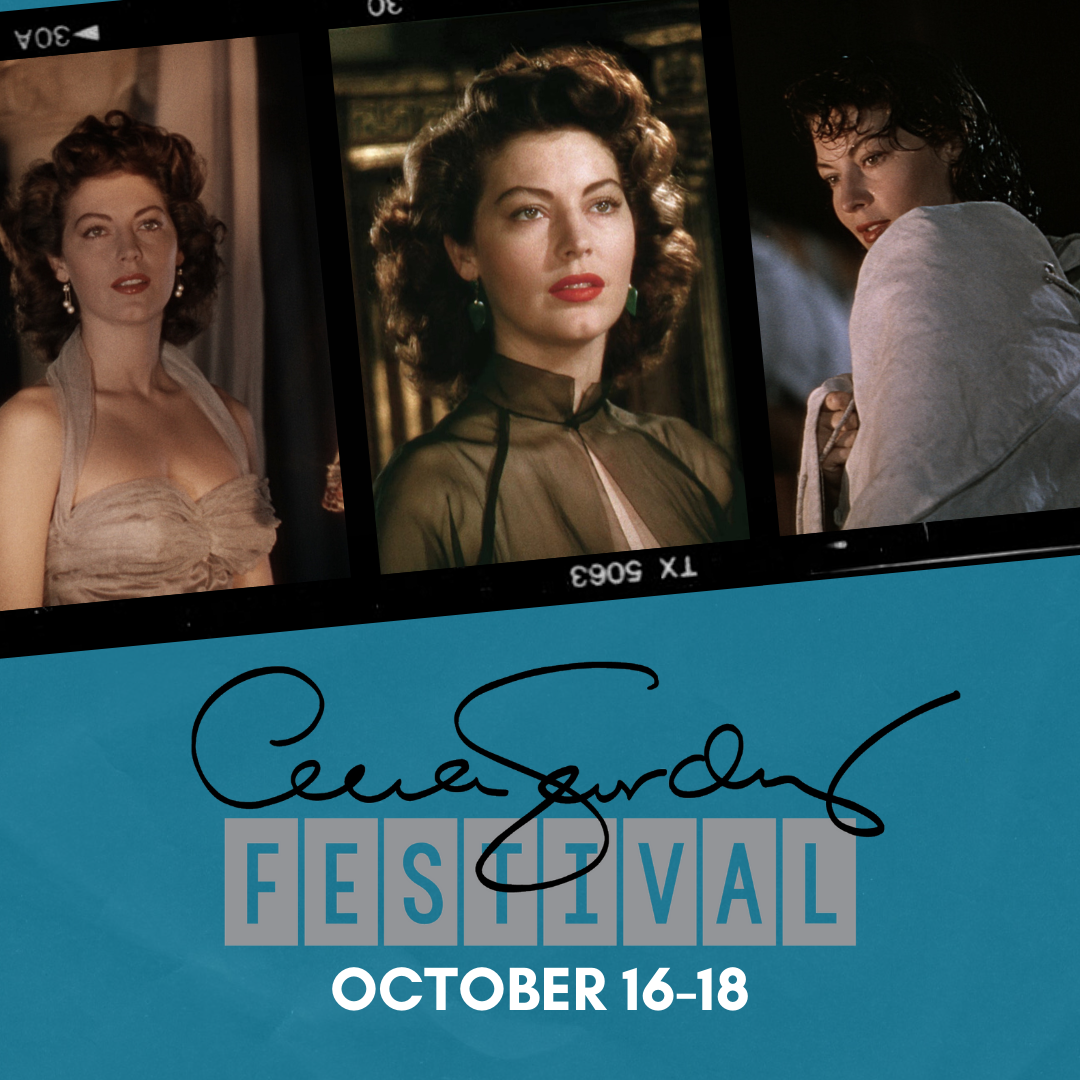Ava Gardner Festival, October 16-18, in Smithfield, NC.