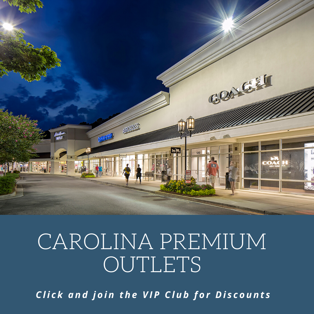 Carolina Premium Outlets is a great place for shopping and savings in Smithfield, NC.