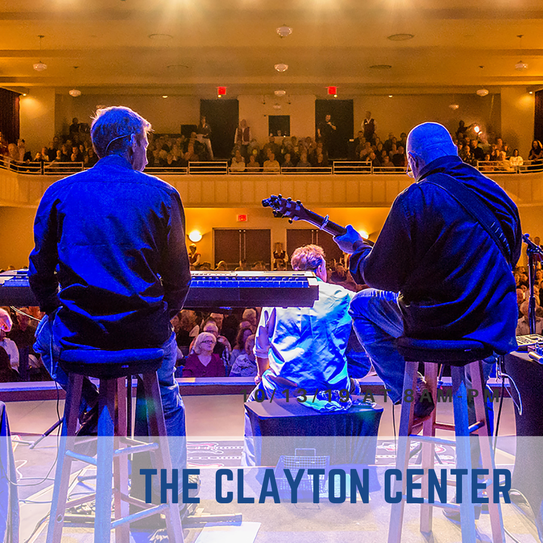 The Clayton Center offers events, meeting space, and concerts all year round in Clayton NC.