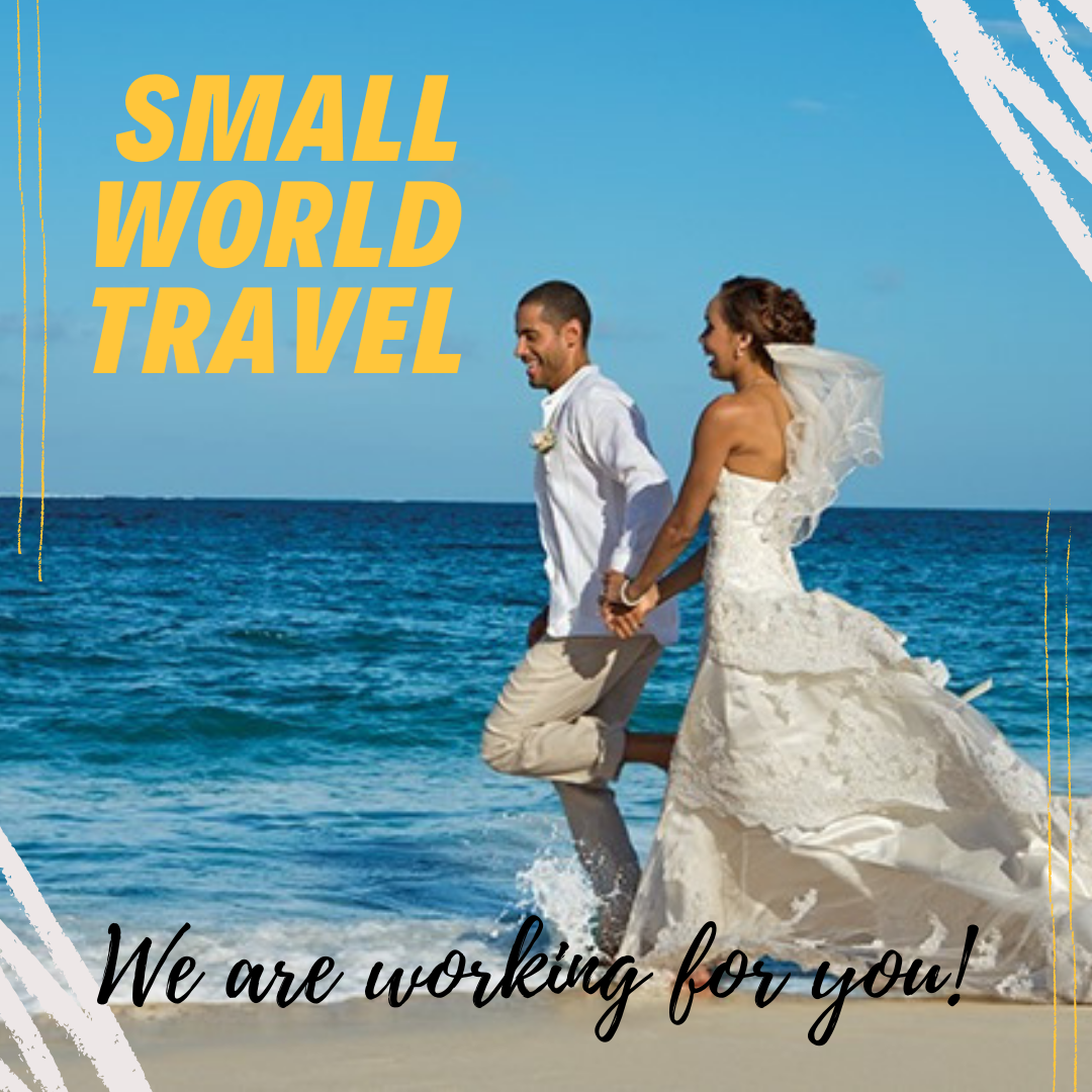 Small World Travel offers vacation travel and honeymoon travel planning, they work for you!
