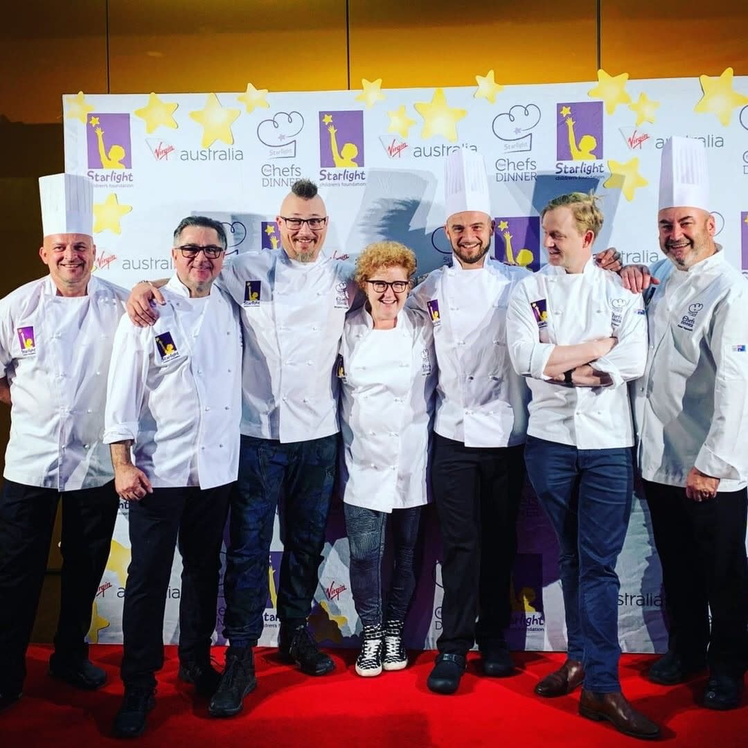 Leading Victorian Chefs in the kitchen for charity at MCEC
