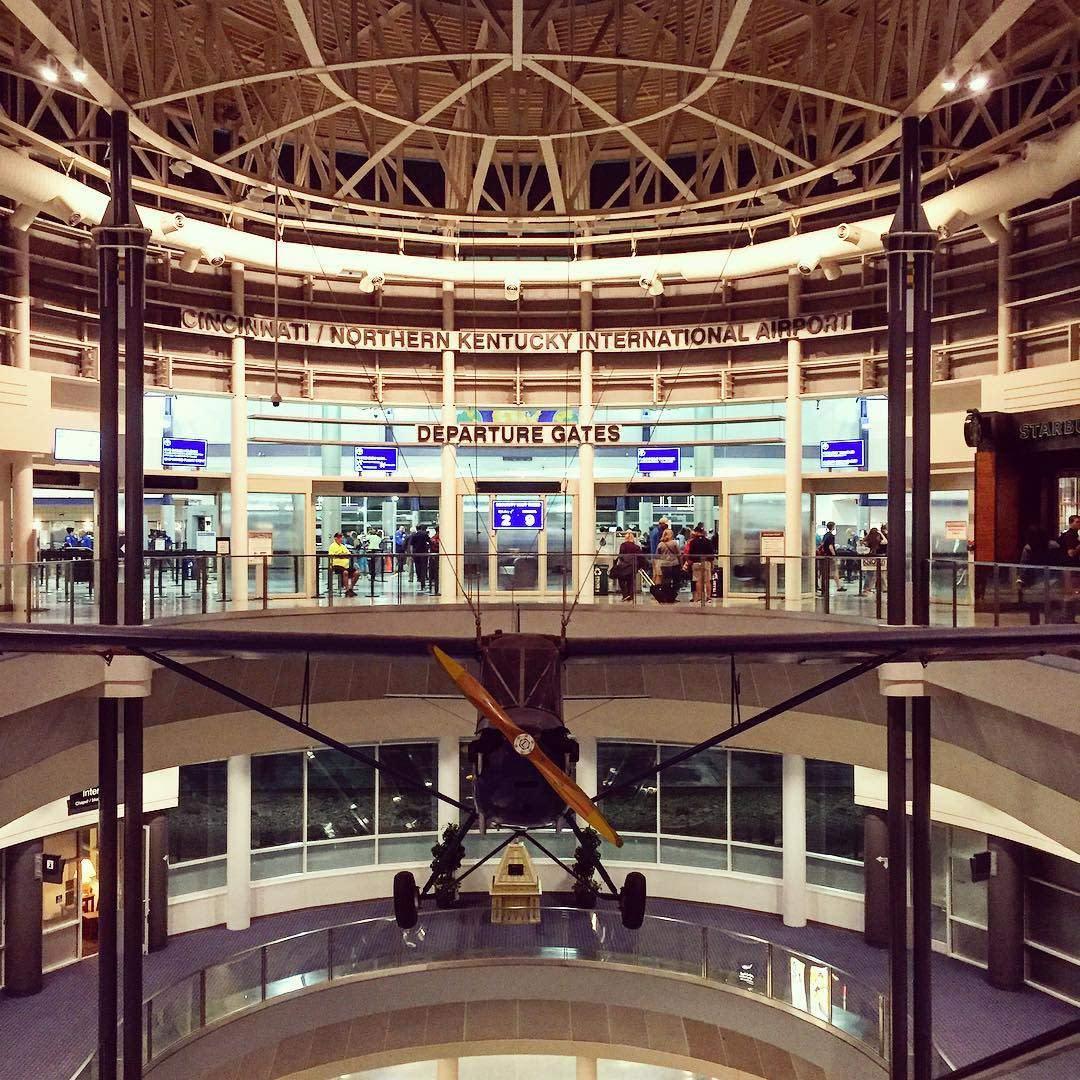 Inside the CVG Cincinnati and Northern Kentucky International Airport