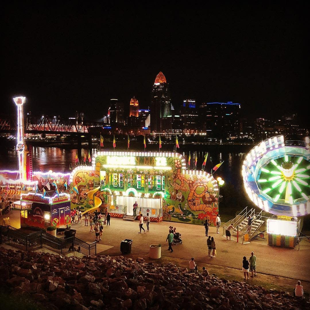 festival on levee