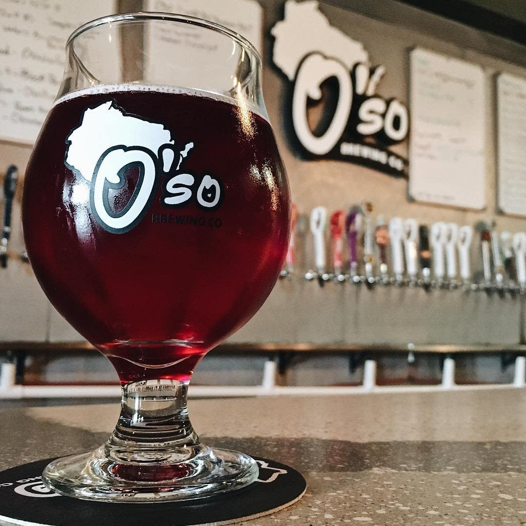 Don't miss a stop at O'so Brewing Company in Plover for a behind the scenes look.