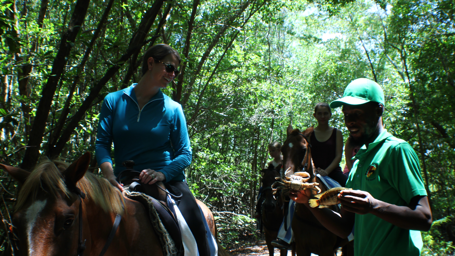 Reggae Horseback Riding at Wild Crocodile Adventure Park