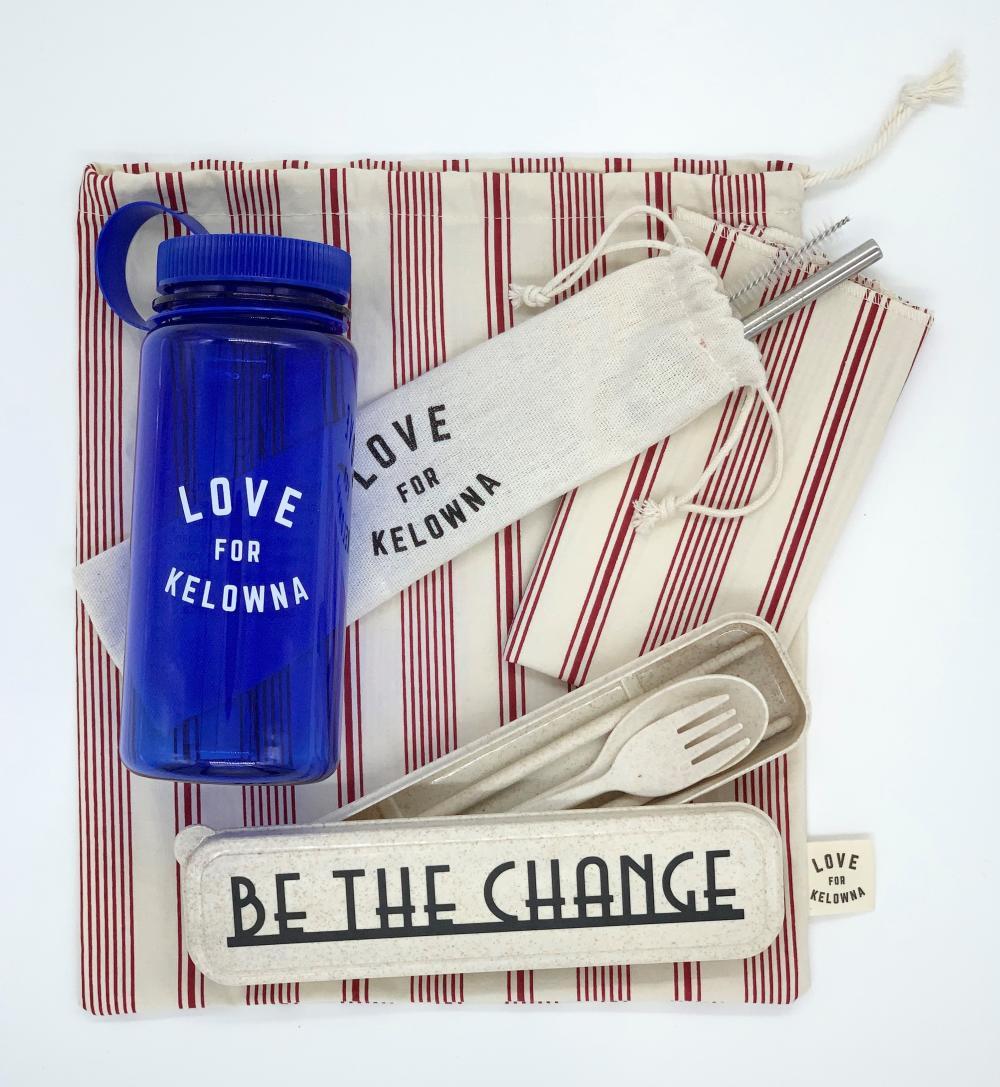 Love for Kelowna Zero-Waste Travel Kit