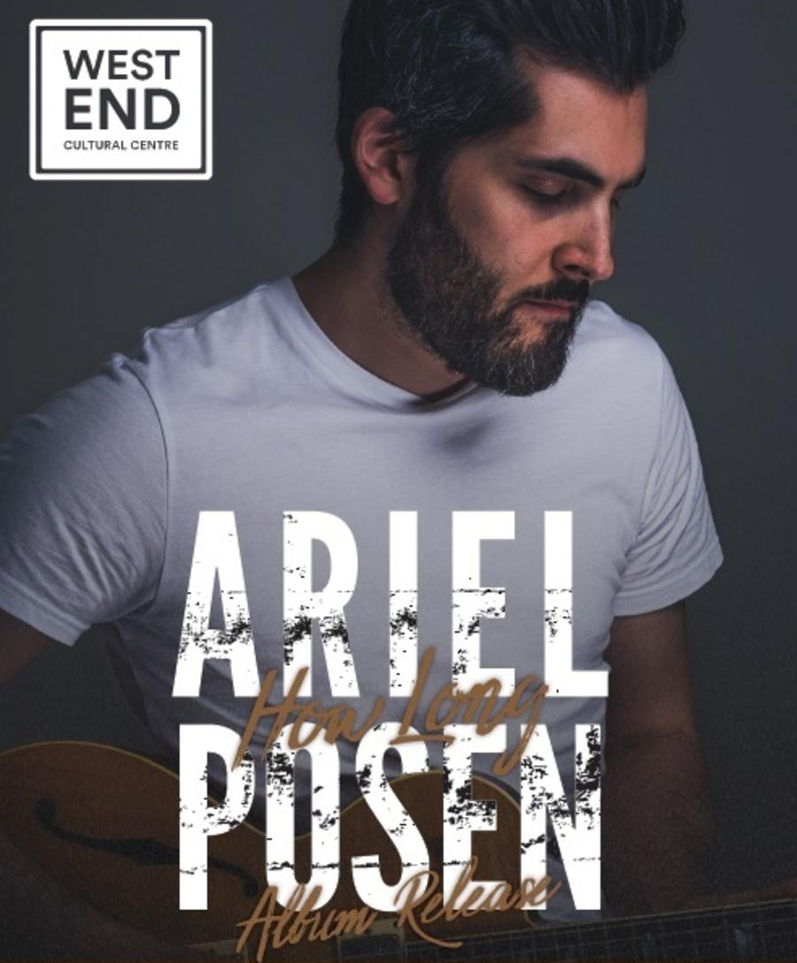 Ariel Posen at West End Cultural Centre