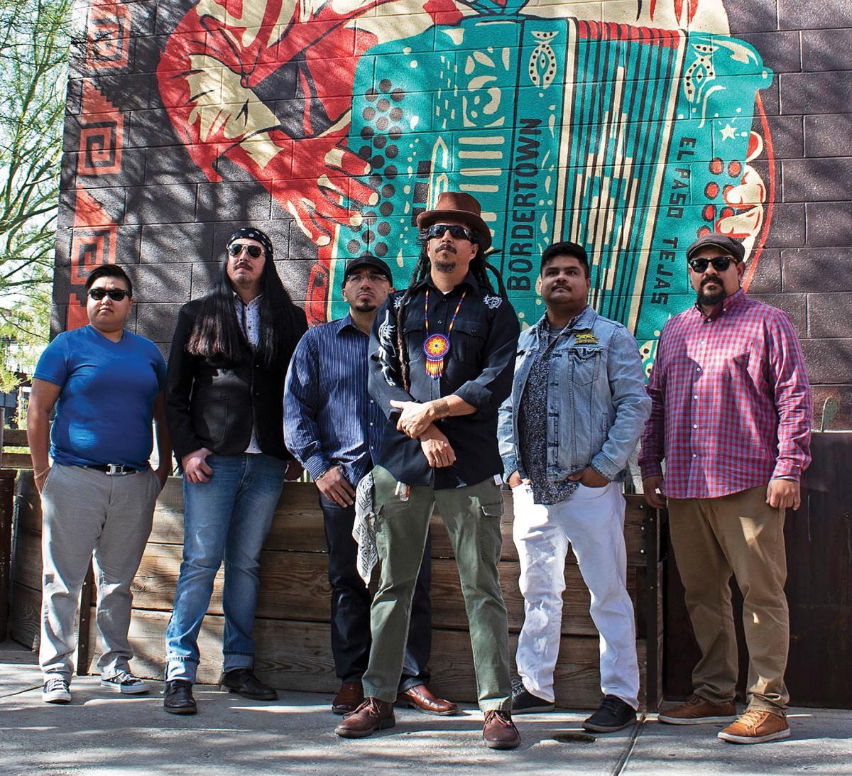 Radio La Chusma mashes up reggae, cumbia, worldbeat, and rock rhythms