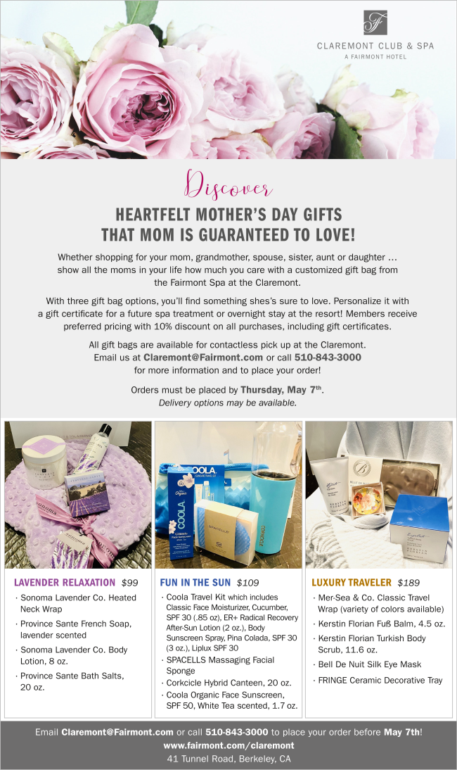 Claremont Mother's Day Package Photo