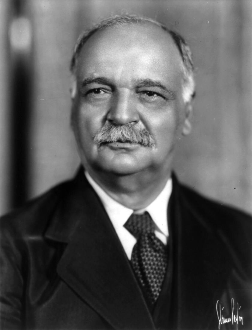 Charles Curtis Portrait