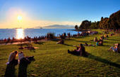 English Bay at Sunset