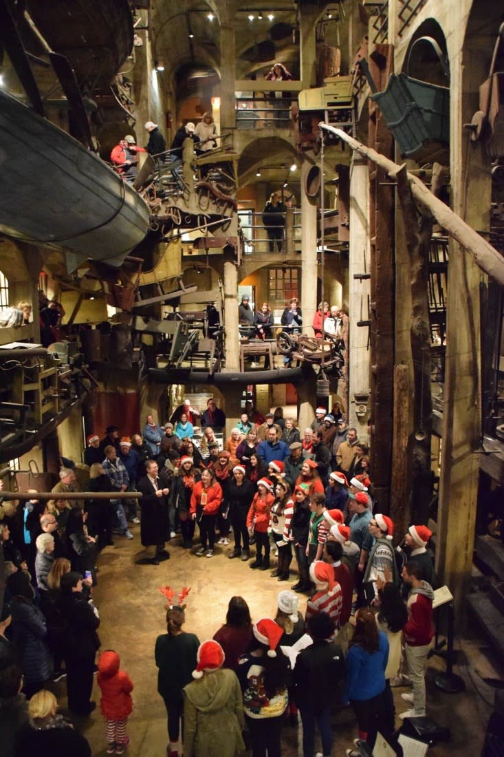 Mercer Museum Holiday Open House