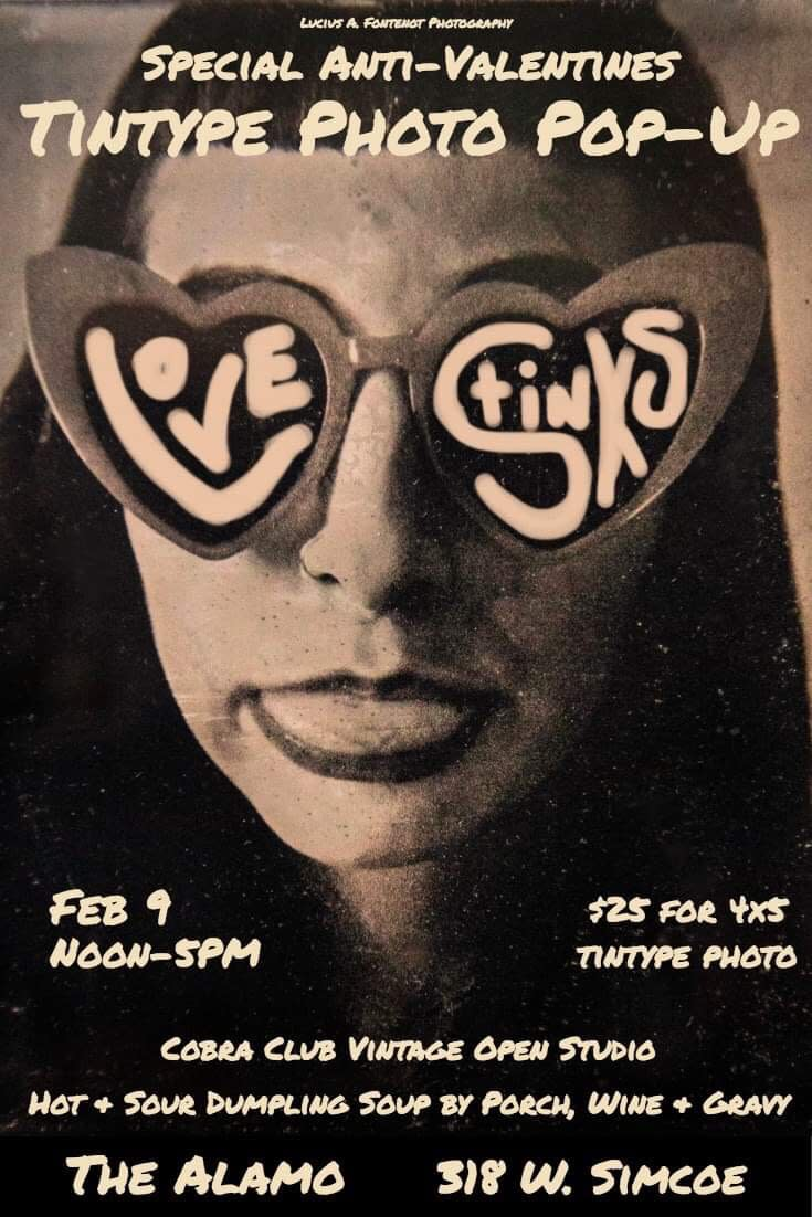 Tintype Photo Pop-Up