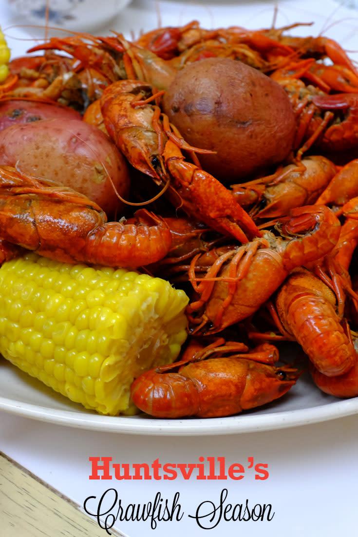 Crawfish season in Huntsville, AL