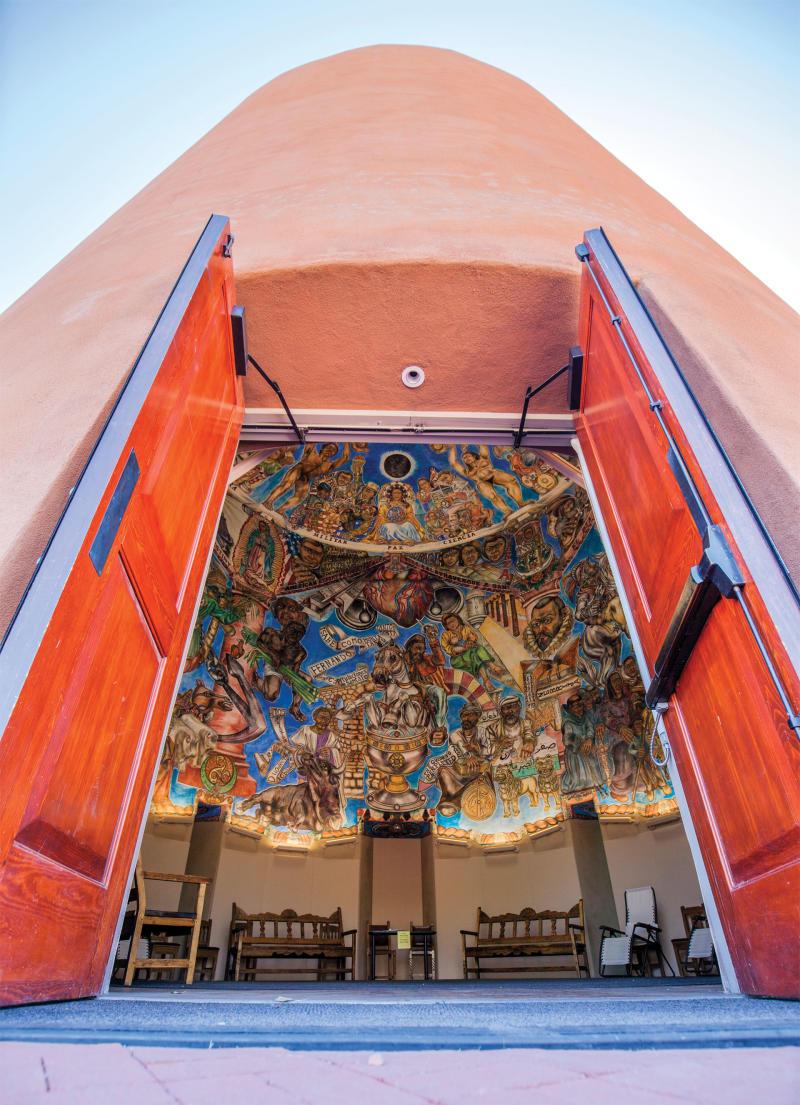 National Hispanic Cultural Center Fresco