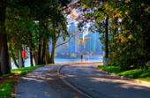 Thumbnail: Seawall Looking Out at the City