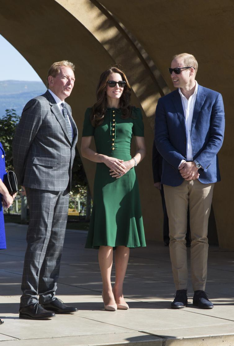 The Duke and Duchess with Anthony von Mandl