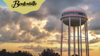 Bentonville Water Tower Background