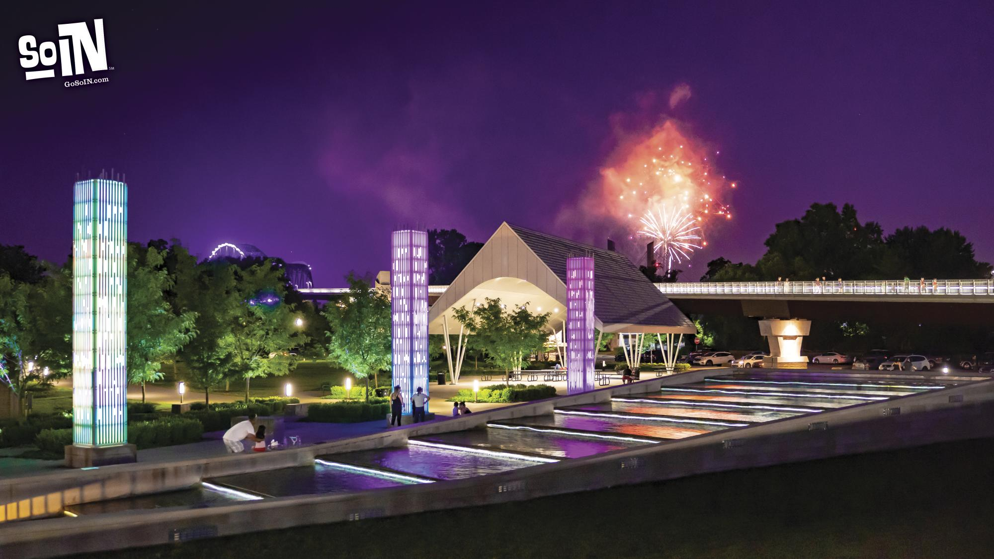 SoIN Virtual Background 4 - Big Four Station Park