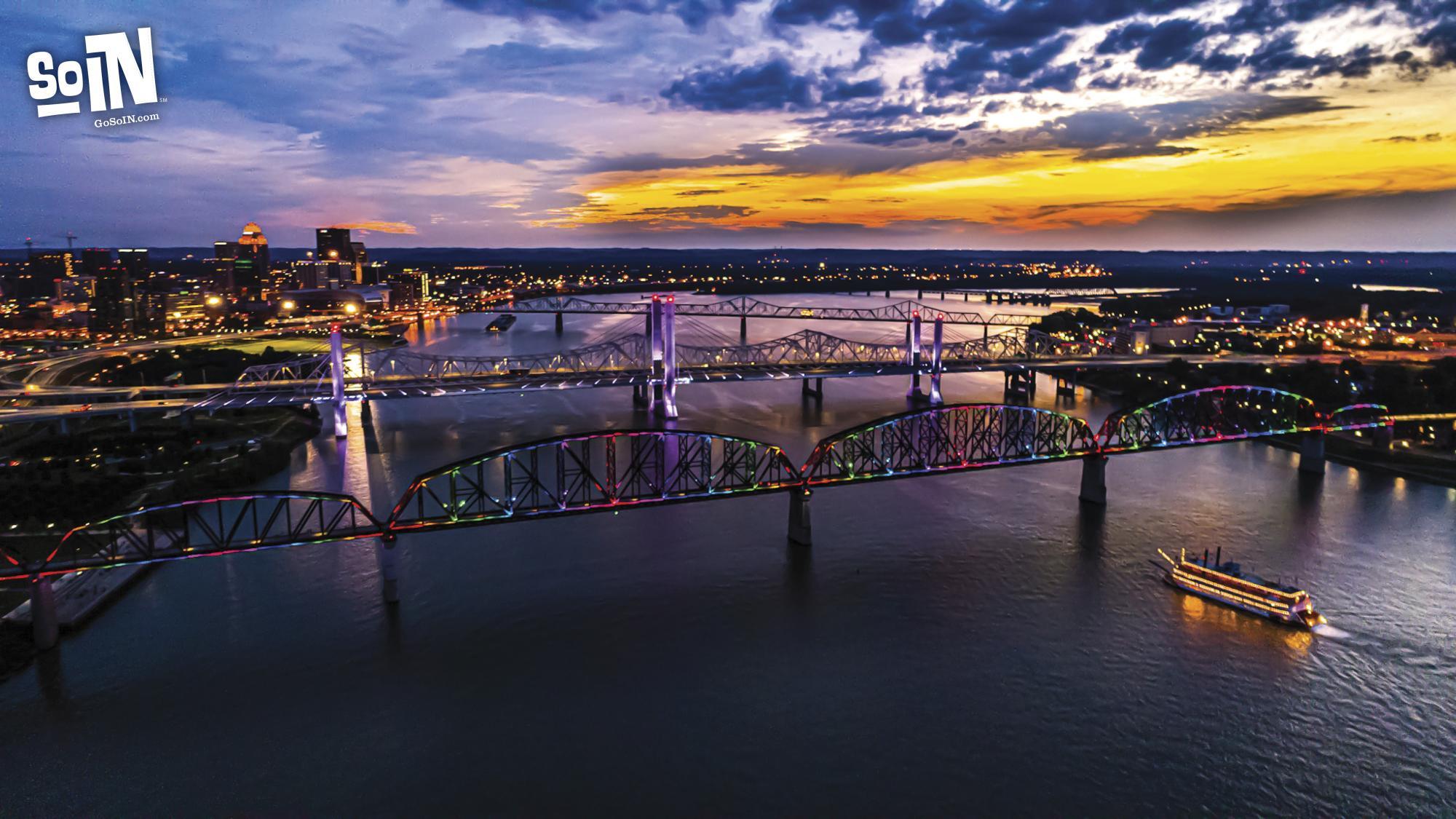 SoIN Virtual Background 1 - Ohio River Bridges