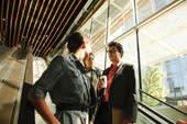 Thumbnail: Delegates on VCC Escalator