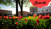 Bentonville Square Background